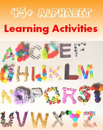 45 and More Alphabet Learning Activities - Mom's Library