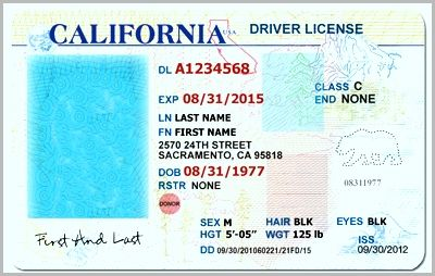California Id Template Beautiful Drivers License Fake Drivers License Drivers License Ps Drivers License California Ca Drivers License Drivers License Pictures