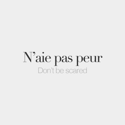 Every day, new French words to discover. Why? Because French is beautiful.