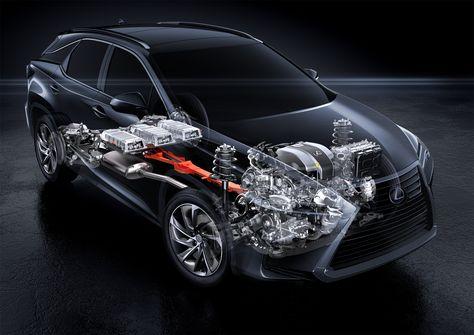 2016 lexus rx450h drivetrain, 300hp / moteur du rx450h 2016, 300ch