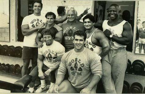 world gym legends