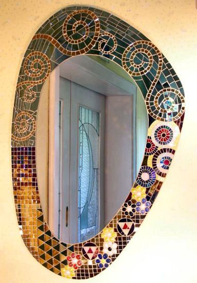 Related Image Mosaikspiegel Mosaik Gustav Klimt
