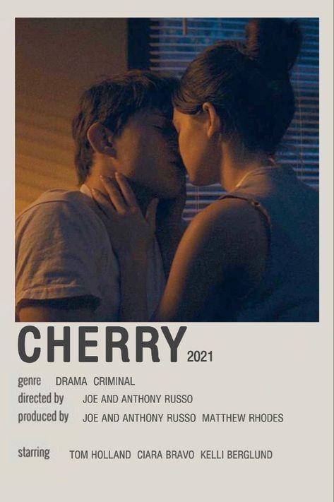 CHERRY 2021 minimalist Polaroid movie poster