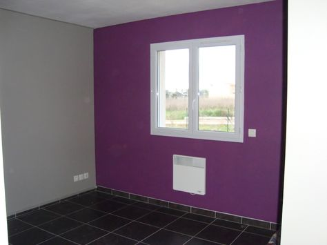 Stunning Chambre Gris Mauve Contemporary - Yourmentor.info ...