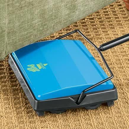 Vintage Design Bissell Carpet Sweeper Cleans Carpets The Old Fashioned Way Quickly Quietly An Carpet Sweeper Carpet Cleaning Hacks Carpet Cleaning Pet Stains