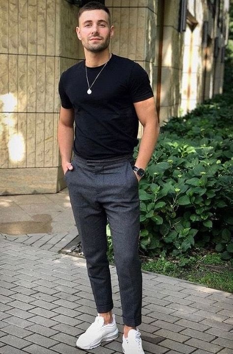14 Casual LowTop Sneaker Outfits Honcho Lifestyle mensfashiontrends is part of Sneakers men fashion - Stylish Mens Outfits, Casual Outfits, Men Casual, Fashion Outfits, Swag Outfits, Trendy Mens Fashion, Summer Outfits Men, Fashion Trends, Fashion Pants