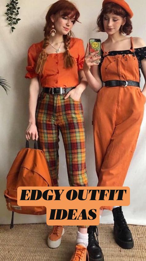EDGY OUTFIT IDEAS
