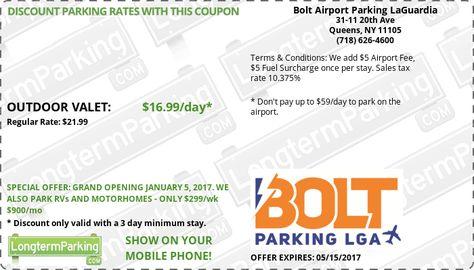 New York Laguardia Lga Airport Parking Guide