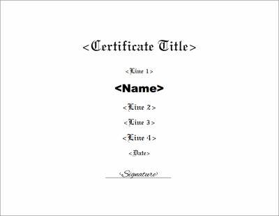 Blank Certificate Templates Kiddo Shelter Blank Certificate - blank certificate