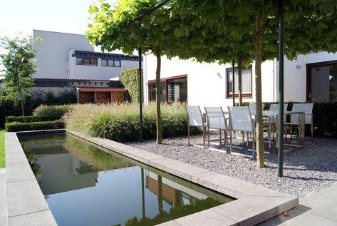 228 best Garten images on Pinterest Formal gardens, Landscaping - terrassengestaltung mit wasserbecken