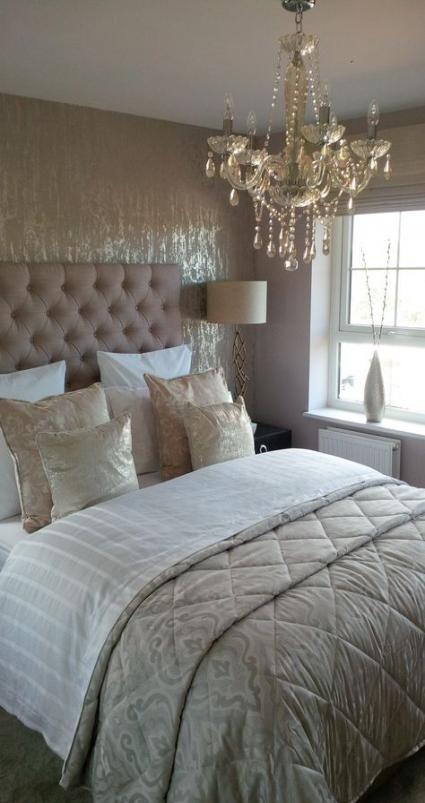 54 Super Ideas Silver Wallpaper Bedroom Beautiful Bedroom Wallpaper Superluxurybedrooms Luxurious Bedrooms Glam Bedroom Decor Silver Wallpaper Bedroom