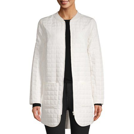 Womens Quilted Tunic Jacket