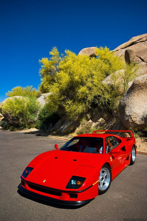 Ferrari F40. I know it is a 20 year old design but still a favorite. No radio, no carpet, no GPS, no power anything, just pure supercar!