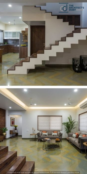 Succinct And Simple Bungalow Design Of Vadodara With Images