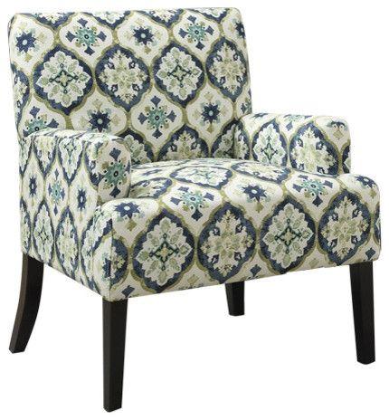 Geometric Accent Chair Wonderful Blue Green Accent Chair Coaster