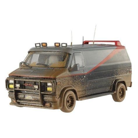 taaan tararaaaan  tararaaaan 5x7 illustration A-Team Van !
