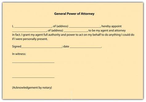 25+ beste ideeën over Power of attorney form op Pinterest - general power of attorney forms