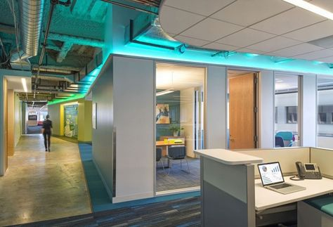 Kaiser Permanente Information Technology office by Huntsman Architectural Group, San Francisco » Retail Design Blog