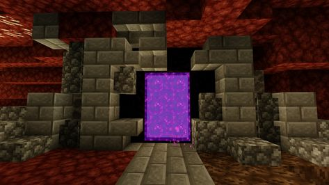 You Can Put Blue Ice Behind The Portal In The Nether To Make It Look Like It Brings You To A Brighter Place M In 2020 Portal Design Minecraft Portal Minecraft Houses Start date jul 14, 2019. you can put blue ice behind the portal