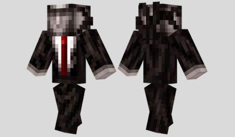 Slenderman Skin para Minecraft