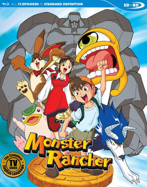 Monster Rancher English Collection Blu Ray Monster Rancher
