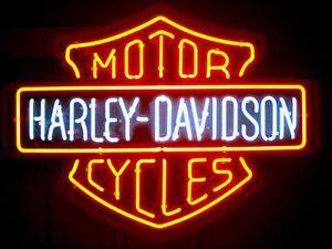 Super Seltene Harley Leuchtreklame Jetzt Kaufen Versand Weltweit Harleydavidson Neons Kpop Harley Davidson Schilder Neonlicht Zeichen Leuchtreklame