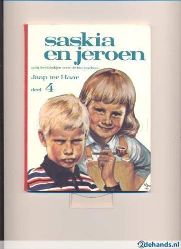 DE boeken saskia en jeroen van Jaap ter Haar, favorieten van heel lang geleden!