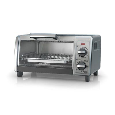 Black Decker Stainless Steel Countertop Oven Finish Black