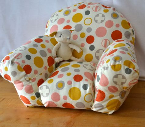 Best Overstuffed Arm Chair For Dolls By Phoebeandegg On Etsy 400 x 300