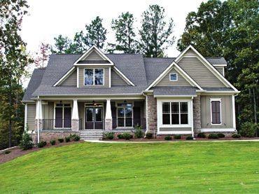 I love craftsman style homes!