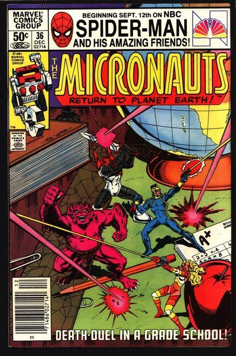 MICRONAUTS #9 VOL 1 MARVEL COMICS SEPTEMBER 1979