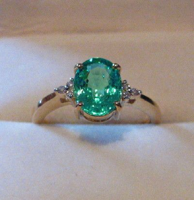 Popular Show me your copper bearing tourmaline Emerald Ring EngagementEmerald
