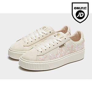factory price 8c2cf 3905b PUMA Suede Platform Floral Women's | shoes in 2019 | Puma ...