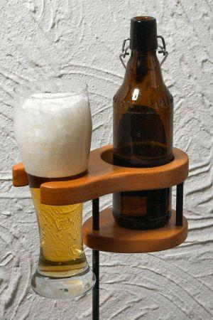 Bierhalter Fur Den Garten Bierhalter Bier Bierkasten