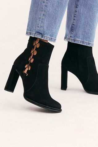 Luxury Casual Round Toe Block Heel Fashion Velvet Zip Shoes NewWomen Ankle Boot