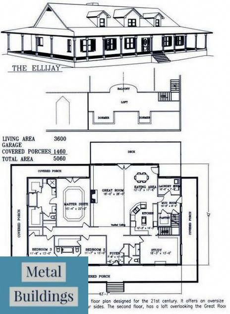 10 And 000 Square Foot Sq Ft Steel Metal Building And Morton Building Homes House Floor Plans House Plans Barndominium Floor Plans