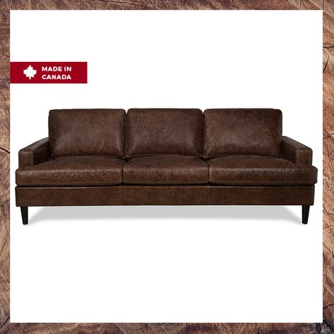 Luxe Leather This Canadian Made Sofa
