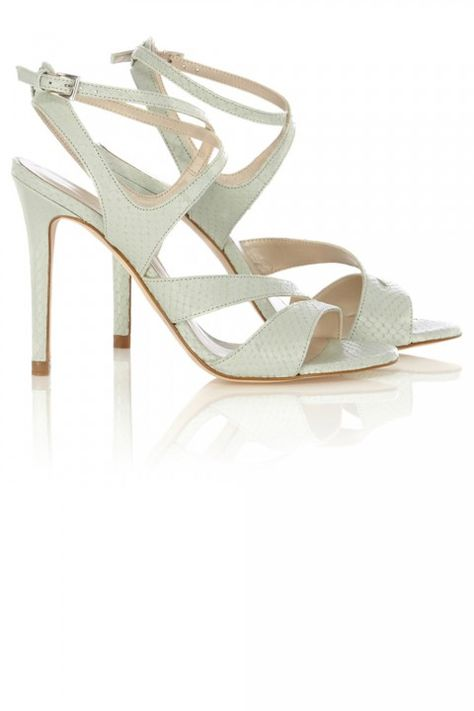 b8ea22457f47 Sandals  The Marie Claire Edit - Zara Criss Cross High Heel Sandal, £49.99  - Page 55   10 Best   Marie Claire