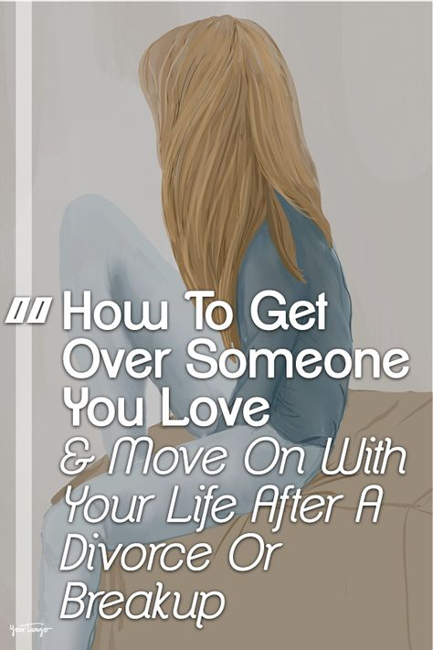 How to get over a divorce quickly