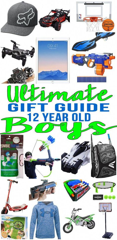 BEST Gifts 12 Year Old Boys Top Gift Ideas That Yr Will