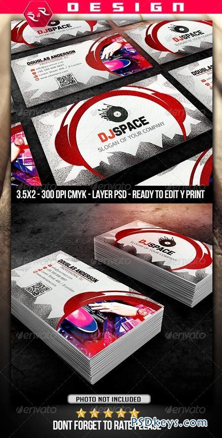 Dj Business Cards Template New Dj Business Card Template Free Download Dj Business Cards Free Business Card Templates Glossy Business Cards