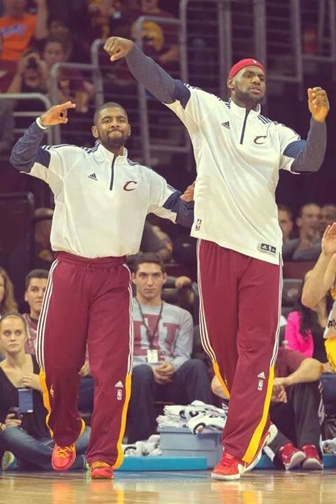 Kyrie Irving and Lebron