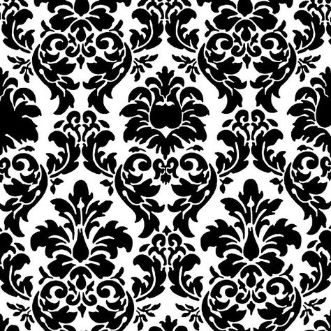 Free Damask Printable for invitations and scrapbook paper