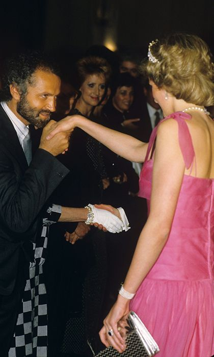 Gianni Versace S Famous Friends From Princess Diana To Madonna