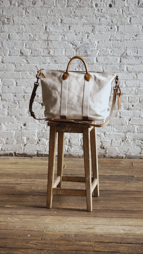 The Canvas Travel Tote
