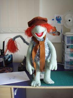 Jarrod Boutcher Puppets Boober Fraggle Puppet Replica Custom Puppets The Muppet Show Muppets