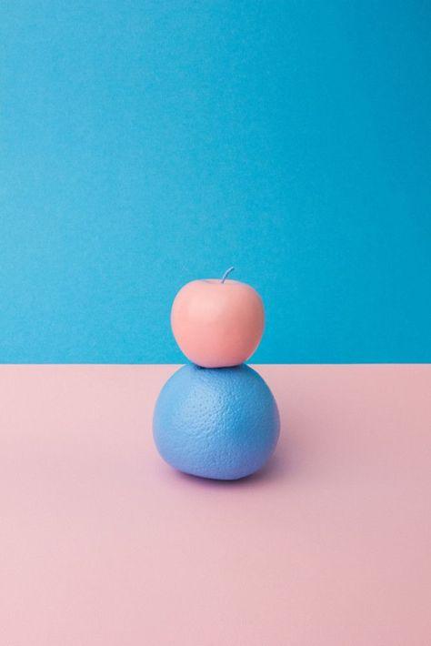 Perception et fruits de couleur