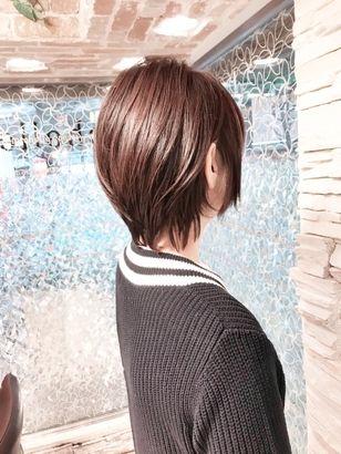 2019年秋 ショートの髪型 ヘアアレンジ 人気順 21ページ目 ホットペッパービューティー ヘアスタイル ヘアカタログ