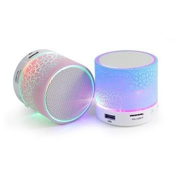 Hot Item 2019 S10 Bluetooth Speaker Mini Speaker Bluetooth With Led Light Outdoor Portable Bluetooth Speaker With Tf Card In 2020 Wireless Speakers Portable Usb Speakers Bluetooth Speakers Portable