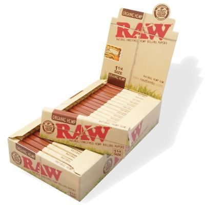 Ebay Sponsored Raw Rolling Paper Organic Hemp 1 1 4 Ful Box Of 24 In 2020 Rolling Paper Raw Organic Raw Papers